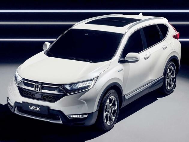 油電休旅原型示人Honda CR-V Hybrid Prototype