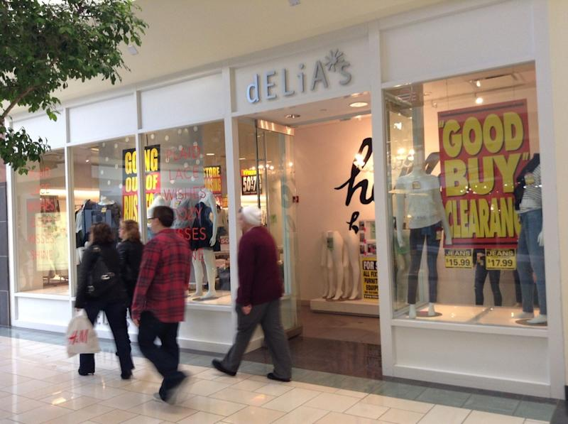 Delia's Clothing Store Stores From Childhood