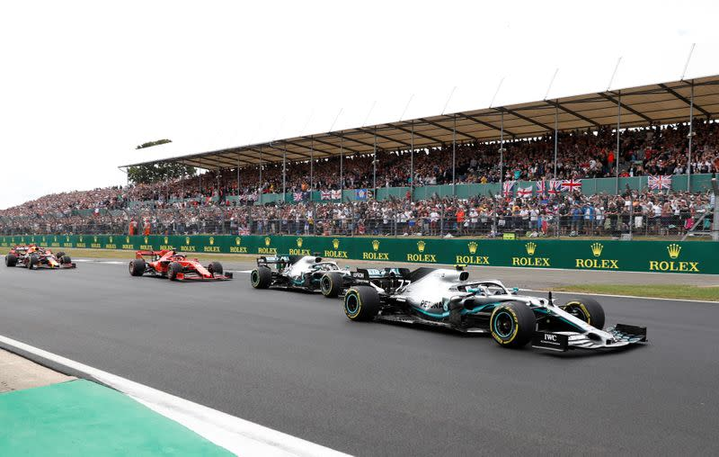 FILE PHOTO:  Formula One F1- British Grand Prix
