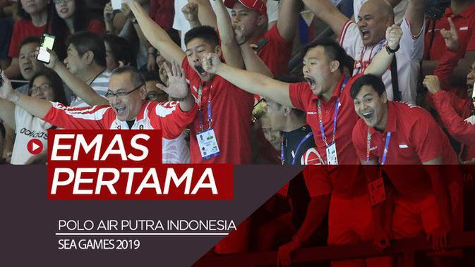 VIDEO: Indonesia Raih Medali Emas Pertama di SEA Games 2019