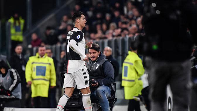 Tinggalkan Stadion Sebelum Pertandingan Usai, Ronaldo Bisa Kena Hukuman 2 Tahun?