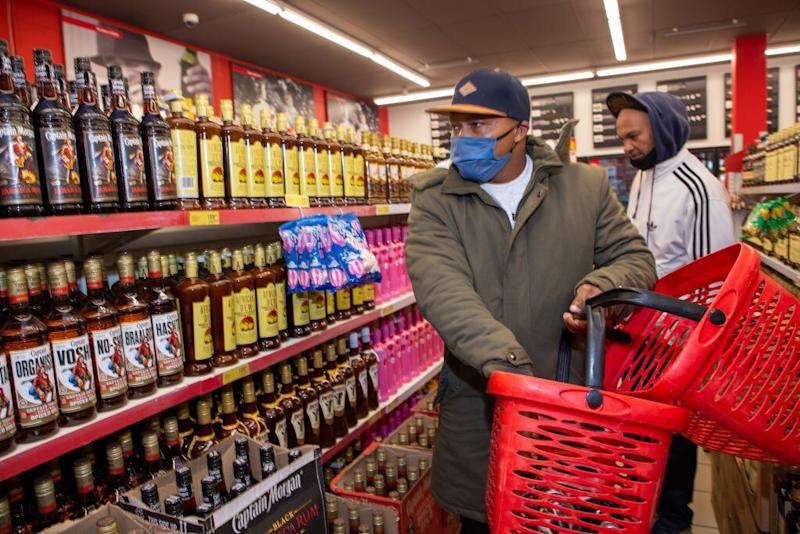 South Africa has only just permitted the sale of alcohol again as part of its easing of restrictions - getty