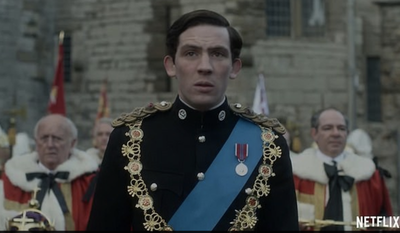 Prince Charles comes of age and is crowned Prince of Wales in the new season. Photo: Netflix