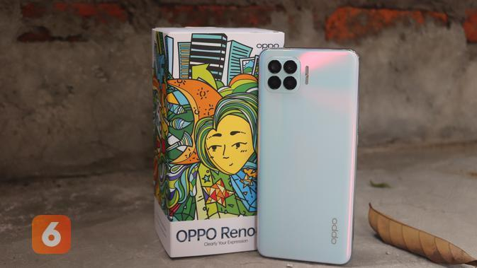 Oppo Reno4 F (Liputan6.com/ Agustin Setyo W)