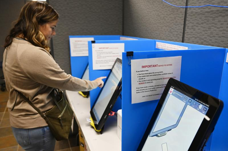 Voting Machines Georgia