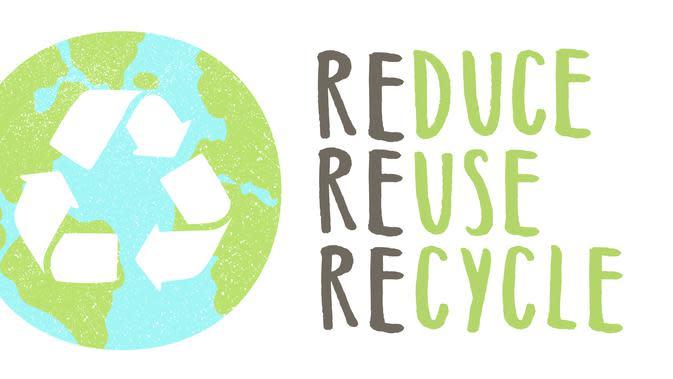 Ilustrasi Reduce, Reuse, Recycle. ©Shutterstock