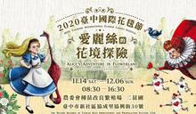 【2020台中國際花毯節】到新社花海與愛麗絲一起冒險!