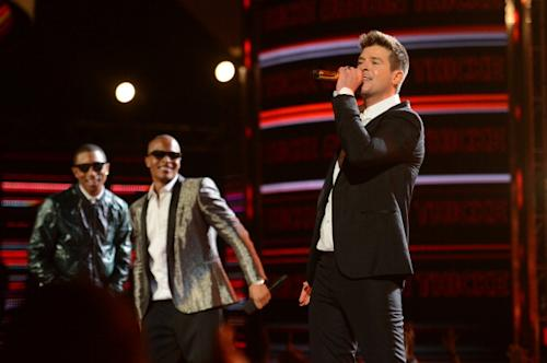 Robin Thicke Doesn't Want to 'Give Up' 'Blurred Lines' to Gaye's Family