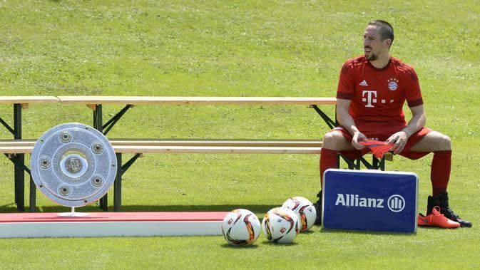 Franck Ribery (AFP/CHRISTOF STACHE)