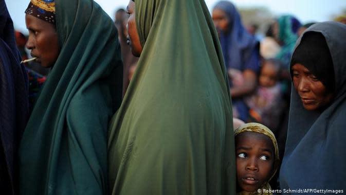 Perempuan Somalia. (Source: AFP/ Roberto Schmidt)
