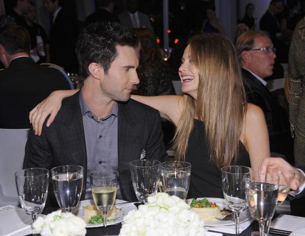 Adam Levine Reunites With Girlfriend in Big Way: They're Getting Hitched!