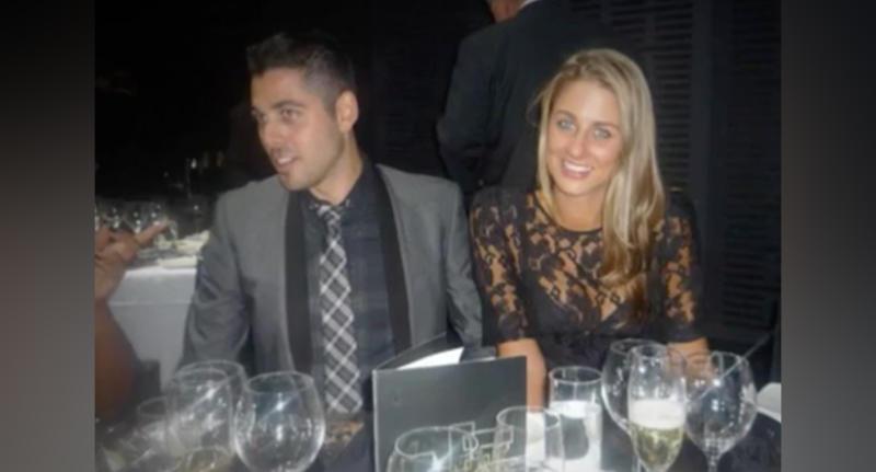 Couple Dominic Pulitano and Tara Whelan
