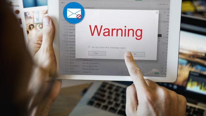 ilustrasi tindak kejahatan phishing/shutterstock