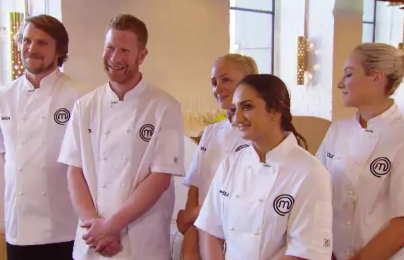 Tim became emotional when the contestants cooked in George's flagship restaurant The Press Club on its last day of service. Photo: Channel 10
