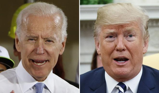Former vice-president Joe Biden is the presumptive Democratic nominee who will take on US President Donald Trump in November. Photos: AP