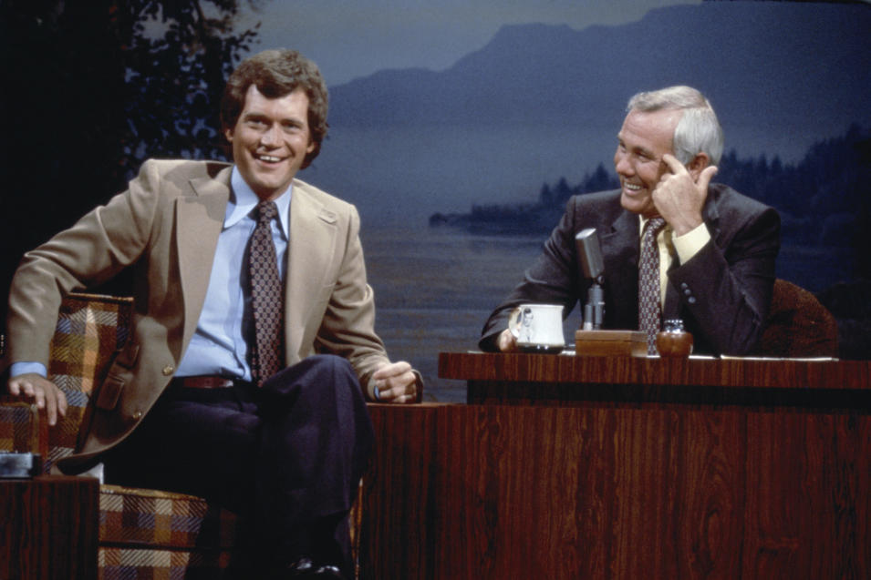 20 Classic 'Late Show' Moments We're Glad We Stayed Up For: His tribute to Johnny Carson following his 2005 death