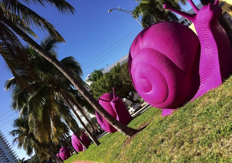 The place to be: Art Basel Miami Beach