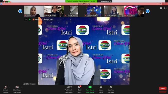 Citra Anggun pemain FTV Suara Hati Istri di Indosiar