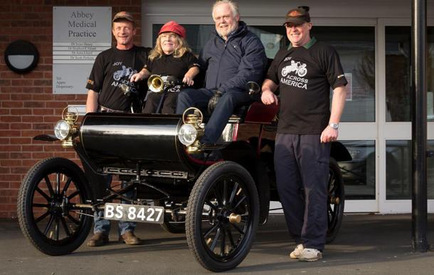 110 year old Oldsmobile readies for epic 2,826 mile journey of a lifetime