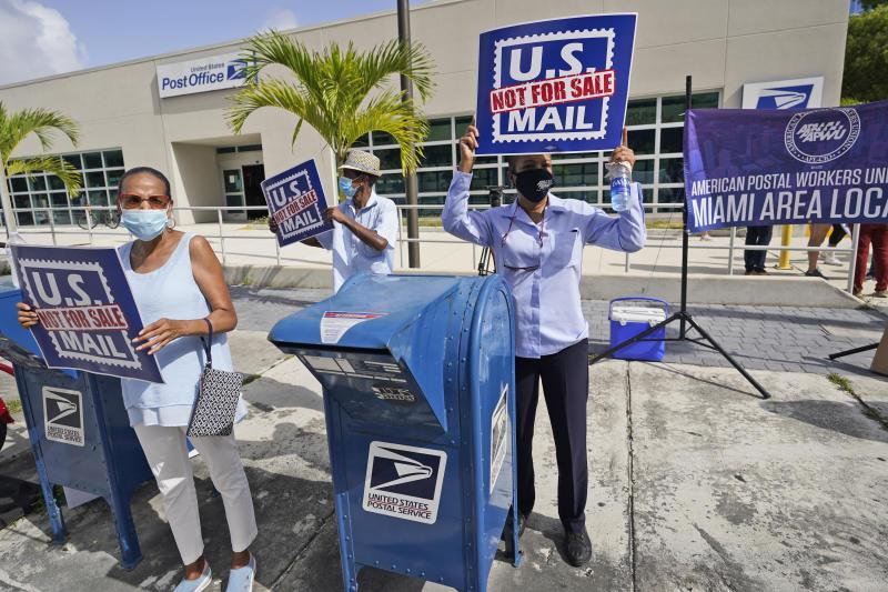 US Election 2020 Postal Service
