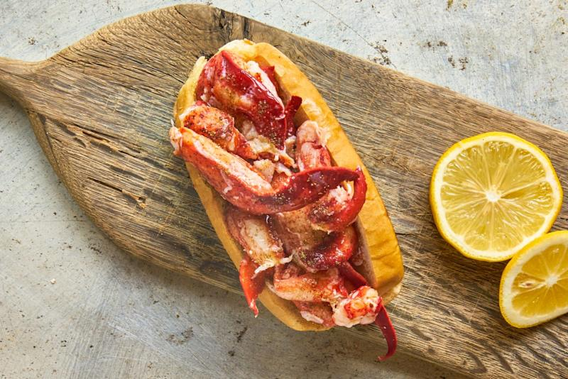 Famous classic lobster roll. (PHOTO: Luke's Lobster Singapore)