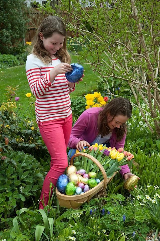 <p>Let the kids play Easter bunny and hide the eggs for the parents. But instead of candy, the eggs are filled with special coupons to skip a chore, choose a special meal, or pick the film for family movie night. The adults have to grant whatever wishes they don't find.</p>
