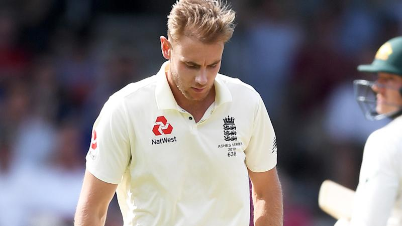 Stuart Broad's frustration was palpable after Marnus Labushagne was dropped for the third time in Australia's second innings.