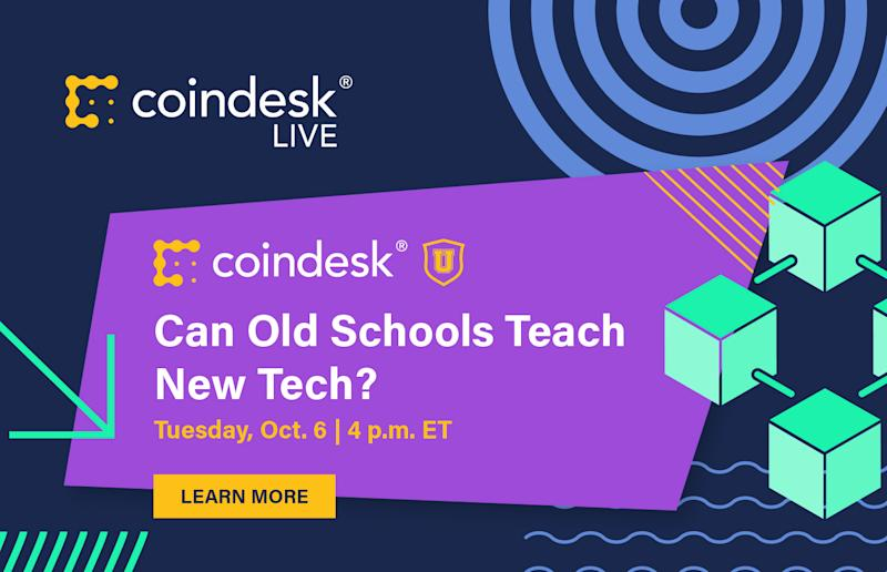 CoinDesk Live: Can Old Schools Teach New Tech?