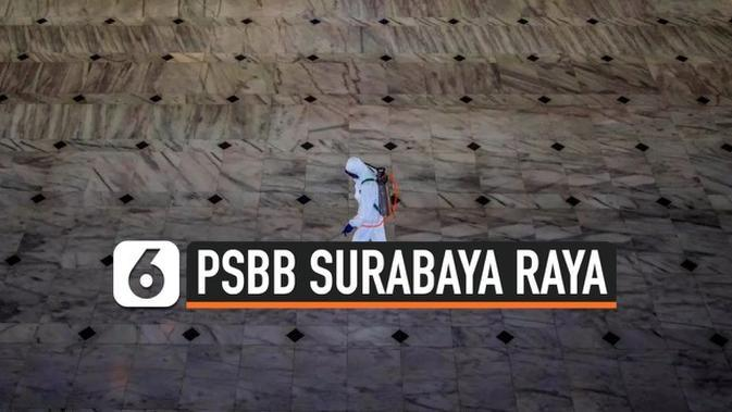 VIDEO: Sepakat Tak Perpanjang PSBB, Surabaya Raya Siapkan Masa Transisi 14 Hari