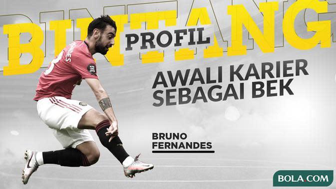 VIDEO: Profil Bintang Bruno Fernandes, Gelandang Andalan Manchester United yang Pernah Jadi Bek