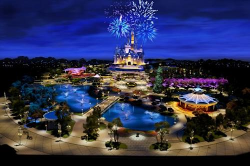 Disney's First Images Of Shanghai Resort