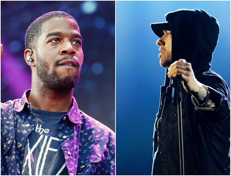 Kid Cudi and Eminem have teamed up for a new rap: Getty