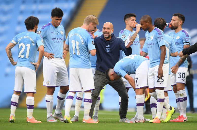 Man City must rebuild for title challenge: Guardiola