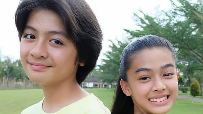 Main Sinetron Bareng, Ini 6 Potret Aqeela Calista dan Rassya Hidayah 'Dari Jendela SMP'