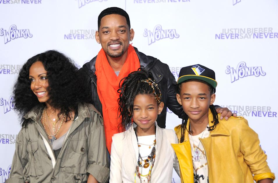 Will Smith, Jaden Smith & Willow Smith