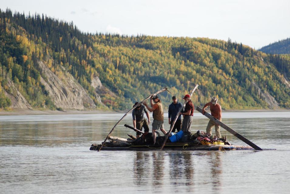 Ultimate Survival Alaska; Episode 102: River of No Return