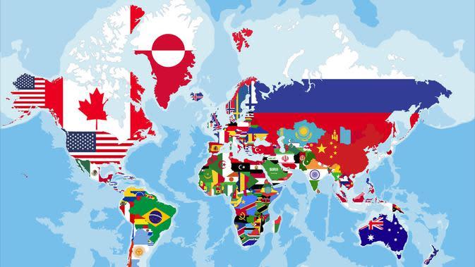 Ilustrasi Negara-negara Dunia (sumber: iStock)