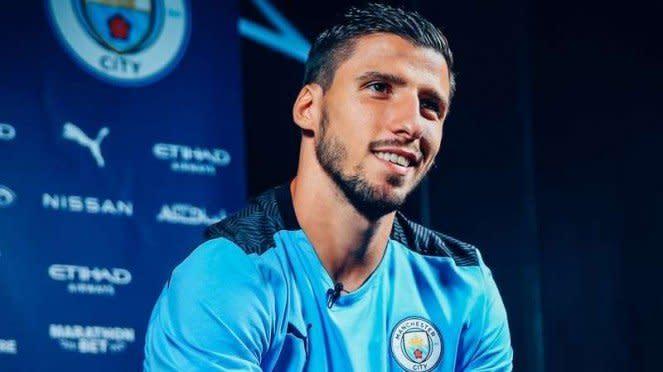 Pemain Anyar Manchester City, Ruben Dias.