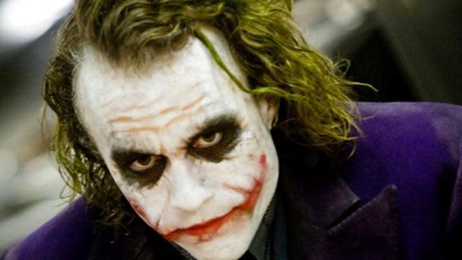 Heath Ledger sebagai Joker. (Foto: Instagram @heathledger)