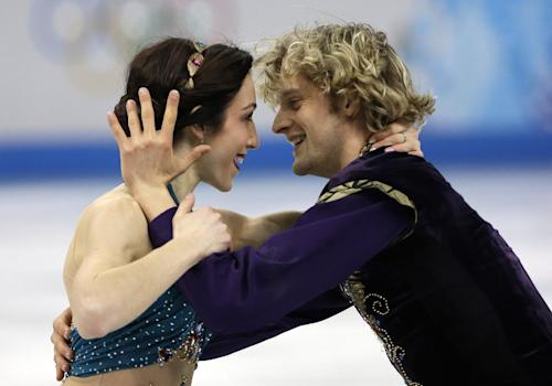Why Olympic star Charlie White doesn't want you to know whom he's dating
