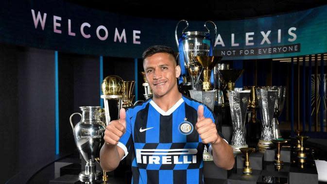 Alexis Sanchez bergabung dengan Inter Milan. (dok. Inter Milan)