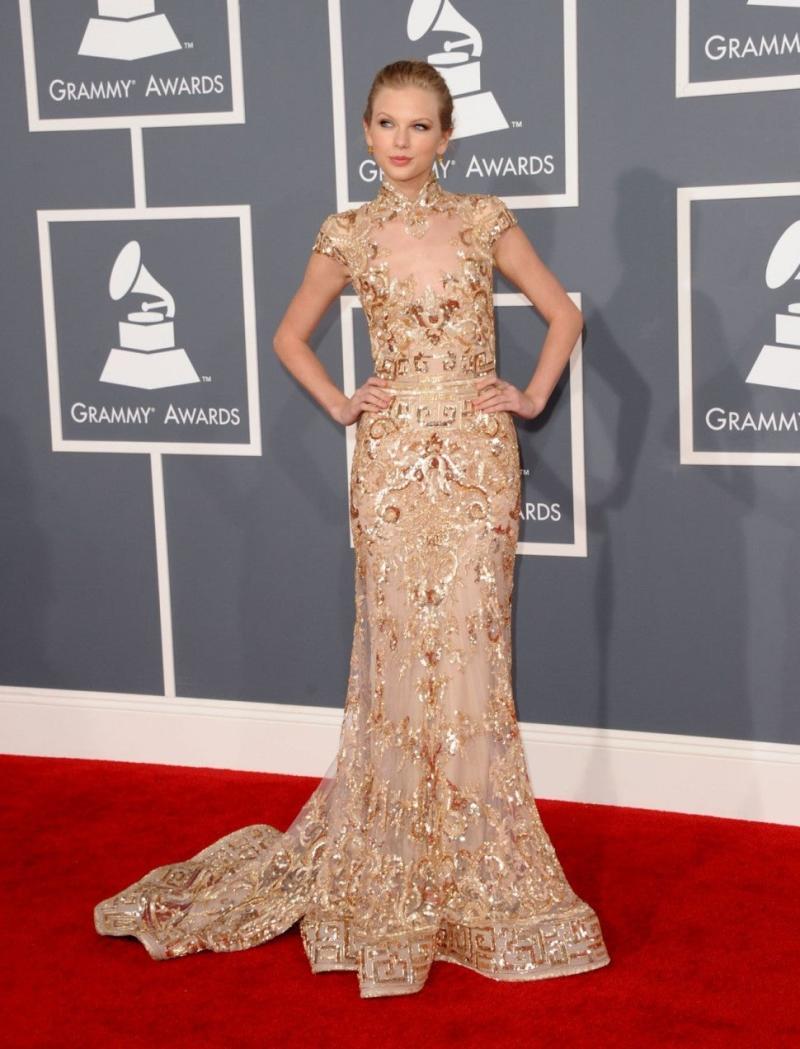 Taylor Swift 2012 GRAMMYs