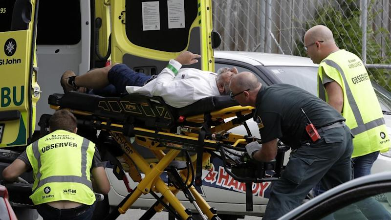 NZ Police have arrested four people after a gunman opened fired at mosque in Christchurch