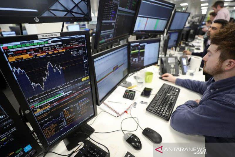 Saham Inggris naik lagi dengan indeks FTSE 100 menguat 0,31 persen