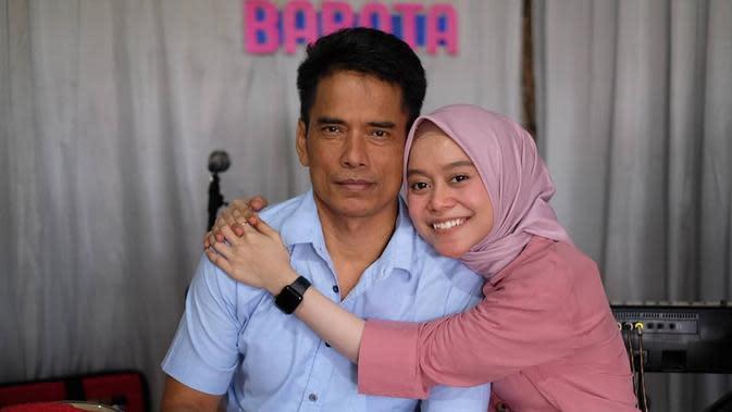 Lesty Kejora dan Ayah (Sumber: Instagram//lestykejora)