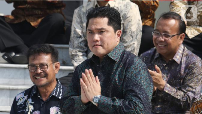 Diam-Diam Sambangi KPK, Erick Thohir Minta Pengawalan Dana PEN