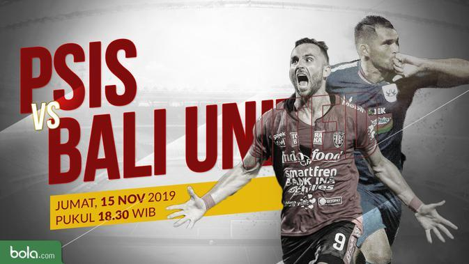 Link Live Streaming PSIS Semarang Vs Bali United di Vidio 18.30 WIB