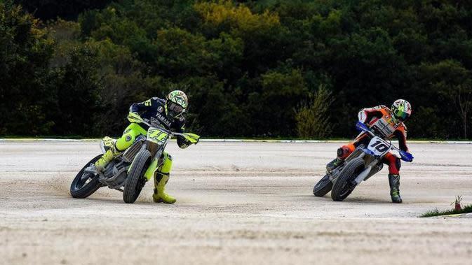 Valentino Rossi dan Pembalap Akademi VR46 Gelar Latihan di Mugello, Dirahasiakan Agar Fans Tidak Datang