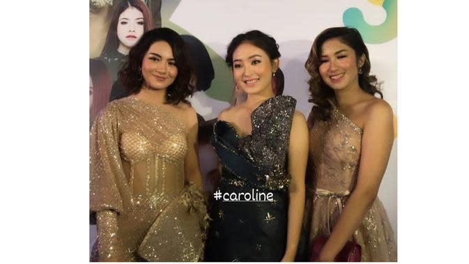 Gaya Seleb Wanita Bintang Sinetron saat HUT SCTV (Sumber: Instagram//fans.anakband.sctv/