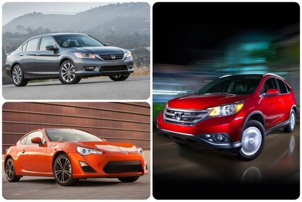 Foreign brands shut out Detroit in Consumer Reports' 2013 top car rankings